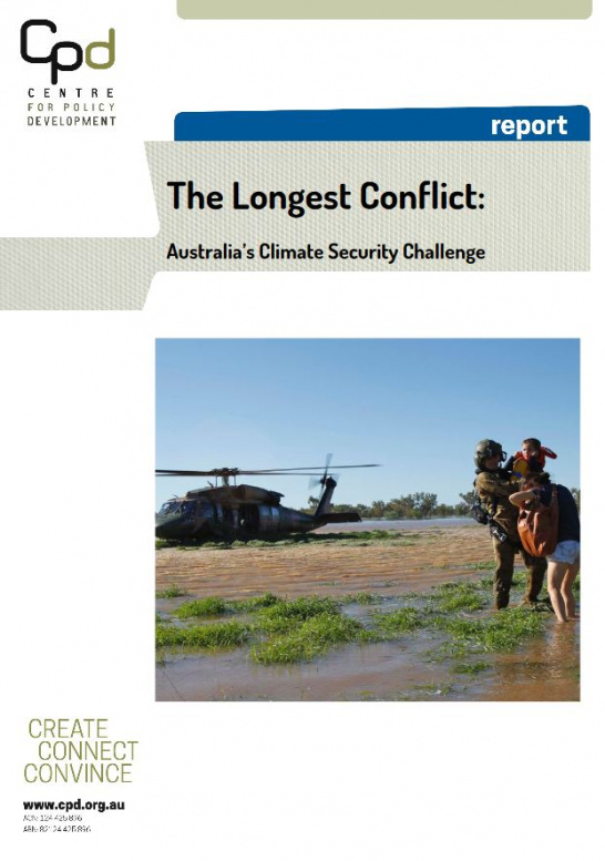 """The Longest Conflict: Australia's Climate Security Challenge"""