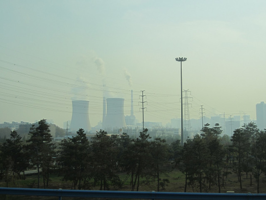 Coal power plant, Baqiao, Xi'an, China