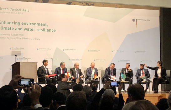 Green Central Asia Conference, panel discussion