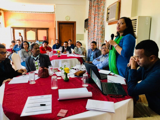 Training, Nepal, climate, fragility, UNEP
