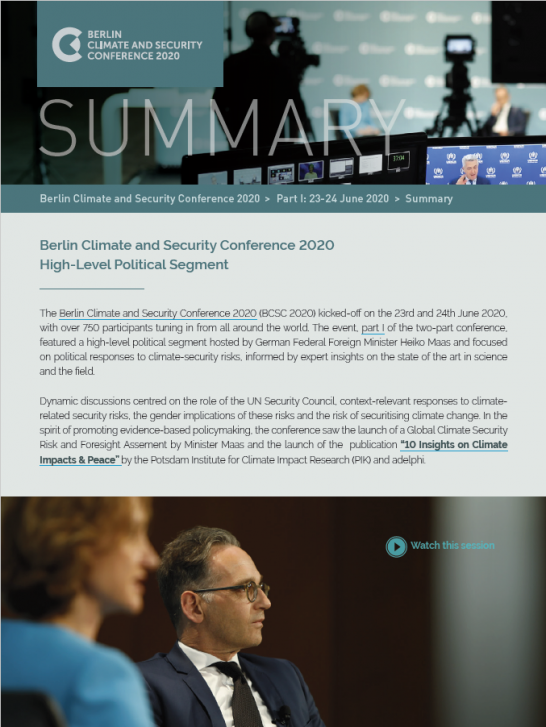 Thumbnail_Summary_Berlin Climate and Security Conference 2020