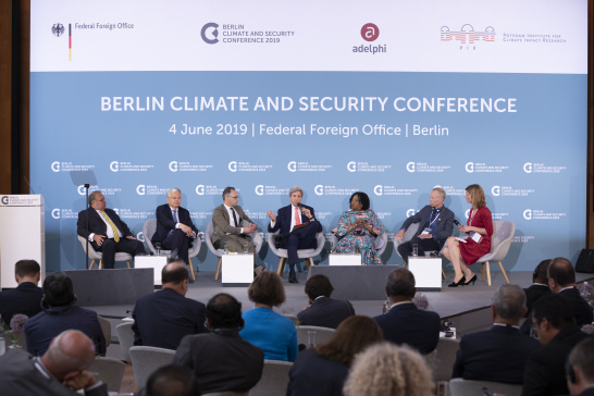Berlin Climate and Security Conference 2019, John Kerry, Heiko Maas, German Federal Foreign Office