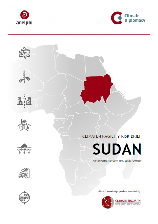 CSEN Climate-Fragility Risk Brief Sudan