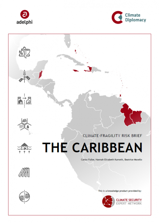 CSEN, Caribbean, climate, fragility, risk, brief