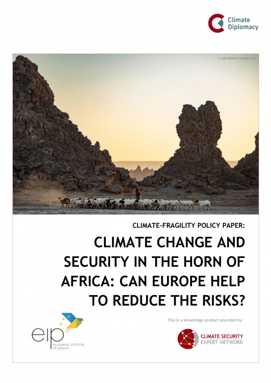 Climate Change and Security in the Horn of Africa Cover