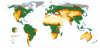 EC Joint Research Centre JRC, World Atlas of Desertification, dryland map, Carbon Brief