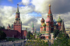 moscow, russia, kremlin, basil cathedral, city, cloud