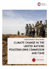 Climate Change in the UN Peacebuilding Commission and Fund Cover