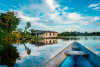 Amazon, Brazil, water, boat, house, South America